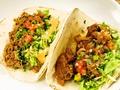 料理メニュー写真ポークのタコス/Tacos de Puerco