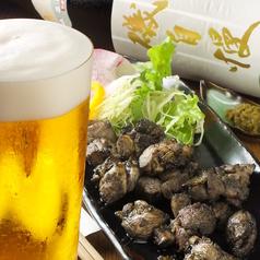 料理メニュー写真淡海地鶏モモ炭火焼