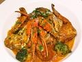 """料理メニュー写真""""限定15食""""渡り蟹のトマトクリームパスタ"""