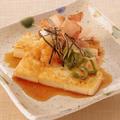料理メニュー写真京豆腐ステーキおろしポン酢