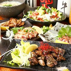 炭焼き専門 焼き鳥と馬刺し ひととき 梅田堂山店のおすすめ料理1