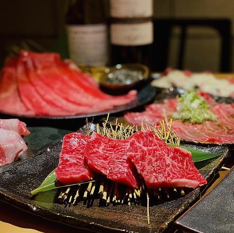 【当日予約OK】名物タンの焼きしゃぶをはじめ熟成肉などよしはら初めての方オススメ7000円コース