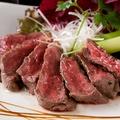 料理メニュー写真オーストラリア産 牛リブロースのタリアータ