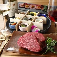 鉄板マフィア uni&beefのコース写真