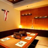 静かにゆったりとしたご飲食に最適な『梅の間』は、6~8名様のお集まりに最適の席です。ご宴会や飲み会、女子会などにおすすめです!
