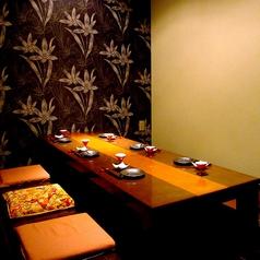 個室の上質空間は接待、宴会、女子会と多彩な場面にご好評頂いております。