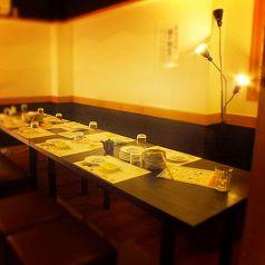 3Fの和風テーブル個室(10名様まで)