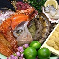 【こだわりの仕入れ】毎日買い付ける鮮魚をお造りで…