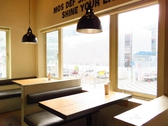 3F☆大きな窓から名古屋の景色を堪能♪