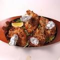 料理メニュー写真カラミカバブ(4P)