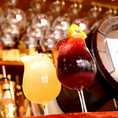 生ワイン(赤・白)が美味い!生スパークリングワインも安定の人気です♪ぜひ一度お試し下さい^^一杯490円~