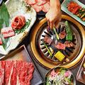 料理メニュー写真【焼肉】ビュッフェ付♪約100種食べ放題「デラックス」コース3480円(税抜)