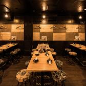【テーブル席】1F2名~30名様  ご利用人数によってテーブルレイアウト変更可能!新橋のちょっとした飲み会・ご宴会に◎