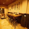 【1F】立ちテーブル~5名