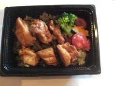 地鶏の照り焼き弁当