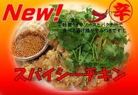【NEW!!】スパーシーチキン 700円