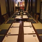2名~最大45名様まで個室対応します。企業宴会、社員旅行など団体でのお食事にも最適です。