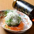 料理メニュー写真まぐろとアボカドの山葵マヨ和え