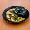 料理メニュー写真やみつき塩キャベツ/マテ茶鶏の唐揚げチリマヨソース/海鮮チヂミ/ナムル盛り合わせ