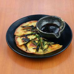 やみつき塩キャベツ/マテ茶鶏の唐揚げチリマヨソース/海鮮チヂミ/ナムル盛り合わせ
