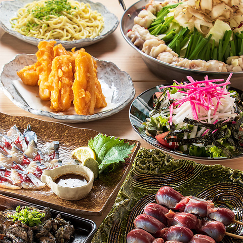 ◆竹乃屋の春宴会◆人気の鍋有りコース全7品飲放付 3900円(税込)!!