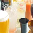 飲み放題は130種以上より選べます★生ビール含