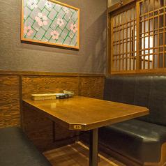 4名様テーブル席♪会社帰りにワイワイお酒を飲みたい気分のときはこんなテーブル席はいかがですか♪