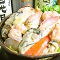 料理メニュー写真絶品海鮮の庄助鍋