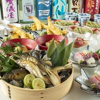 四季折々の上質食材を使用し、板前渾身の美味をお届け