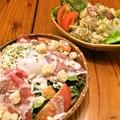 料理メニュー写真炭火焼きベーコンのポテトサラダ