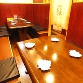 6名様テーブル2卓、最大12名様のテーブル個室がございます。