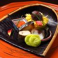 料理メニュー写真懐石 一万二千円 (写真はイメージです)