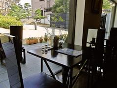 長崎歴史文化博物館 レストラン銀嶺の雰囲気1