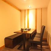 プライベートな飲み会にぴったりな個室をご用意!