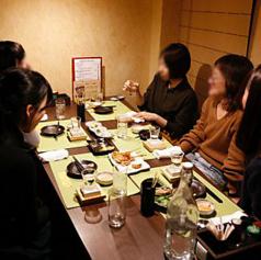 【4名席×3】美味しい料理とお酒を【HANARE】で心ゆくまで楽しめる、外せない湯島の名店です。
