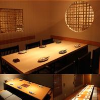 二子玉川ではめずらしい25部屋の個室と半個室