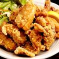 刺身食べ放題コースには若鶏の竜田揚げの食べ放題も付いてくる!もちろん飲み放題もついて3850円の超圧倒的大満足コース♪