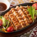 料理メニュー写真◆特製!!Grill ハンバーグステーキ ~自家製ソース付き~◆