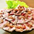 料理メニュー写真極上イチボステーキ丼