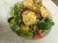 料理メニュー写真有機野菜のシーザーサラダ