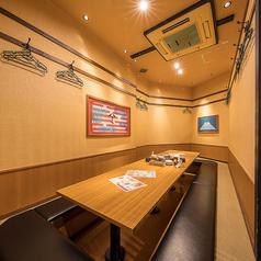 大小個室をご用意しております♪※写真は系列店。お席の詳細は店舗までお問い合わせください。