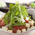 料理メニュー写真豆腐サラダ