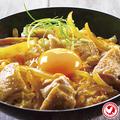 料理メニュー写真総州 紅楽美と烏骨鶏玉子の親子丼