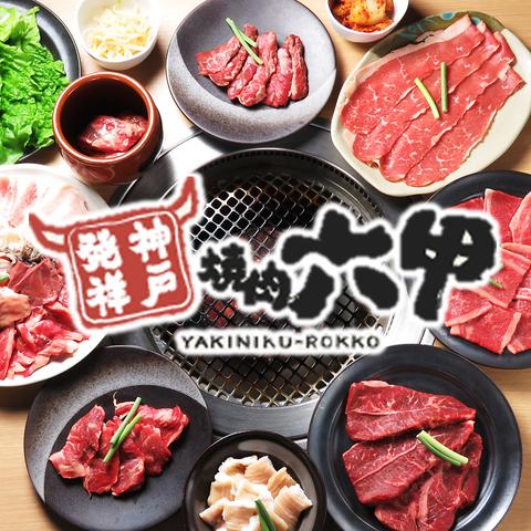 焼肉六甲 梅田茶屋町店