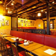 広々とした店内でご宴会!最大宴会40名様までOK新宿で飲み会、宴会、女子会ならビラビアンキ 新宿サザンテラス店にお任せ!熟成肉のステーキと種類豊富なワインを味わえるイタリアンバルです。2h飲み放題付き宴会コースは3500円~楽しめます