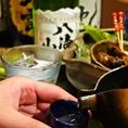 日本酒に合うお料理をご用意!お気軽にお声かけください。