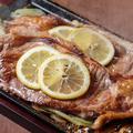 料理メニュー写真牛ロースの佐世保レモンステーキ