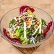 ボリュームある新鮮サラダ