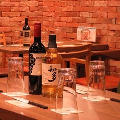知多のウイスキーなど、男性に嬉しいお酒も多数あり。