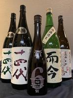 【こだわりの日本酒選びを。】